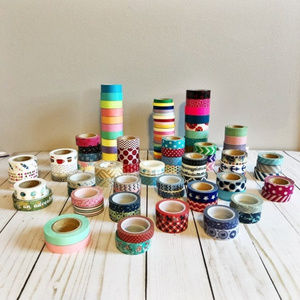 Washi Tape Grab Bag - lot of 100+ rolls